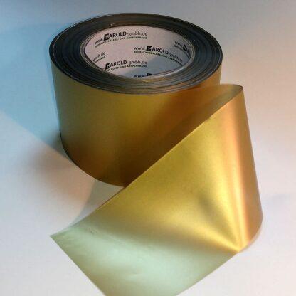 Absperrband bunt gold