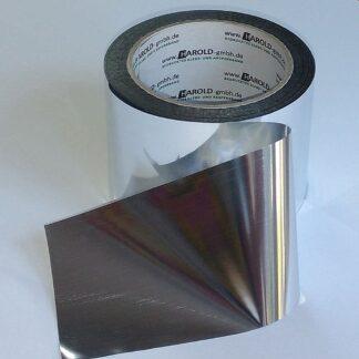 Absperrband metallic Chrome