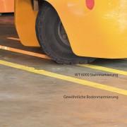WT-6000 staplerfestes Bodenmarkierungsband STahl
