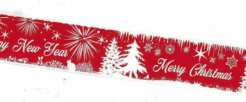 festliches pvc klebeband mit weihnachtsmotiv 50mm x 66m. Black Bedroom Furniture Sets. Home Design Ideas
