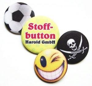 Stoffbuttons der Harold GmbH +49 30 2021 5272 www.harold-gmbh.de