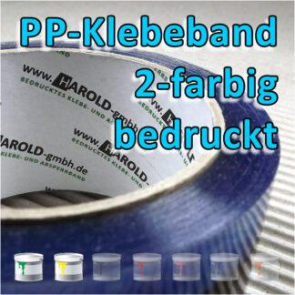 PP-Klebeband 2-farbig