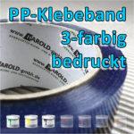 PP-Klebeband 3-farbig