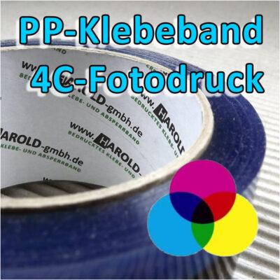 bedrucktes PP-Klebeband 4C Fotodruck