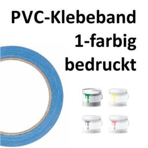 bedrucktes PVC-Klebeband 1-farbig