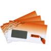 bedruckter Briefumschlag DIN lang mit Fenster 4C