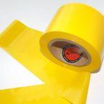 Absperrband gelb neutral 75 100