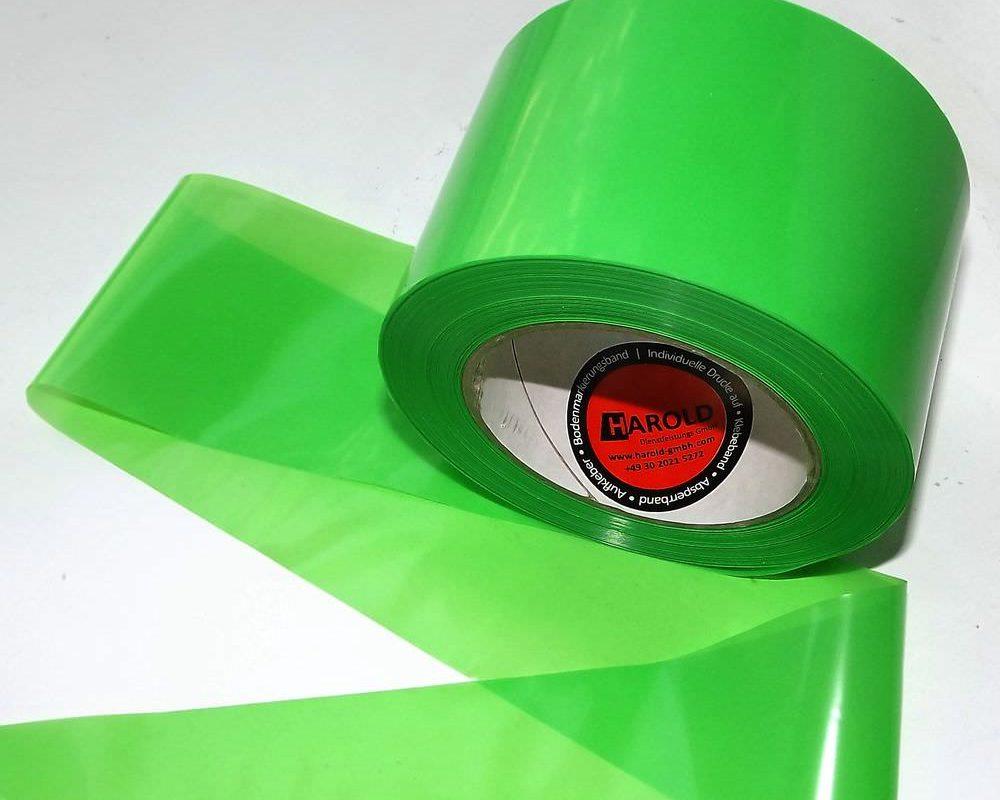 Flatterband grün