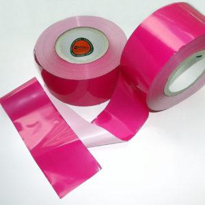 Absperrband neutral MAGENTA-PINK-ROSA