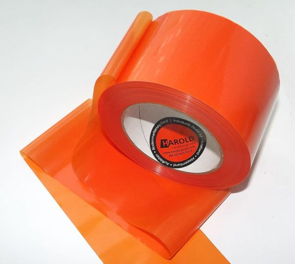 Absperrband orange