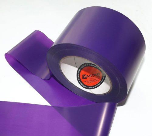 Absperrband violett neutral 75 100