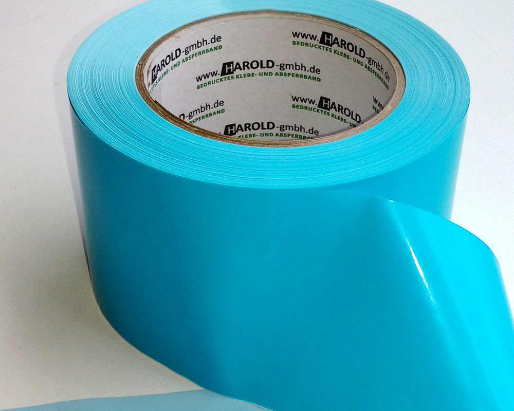 Flatterband blau hellblau