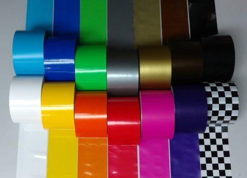Absperrband Dekoband bunt farbig