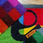 Bedruckter Teppich, Logomatte oder Schmutzfangmatten