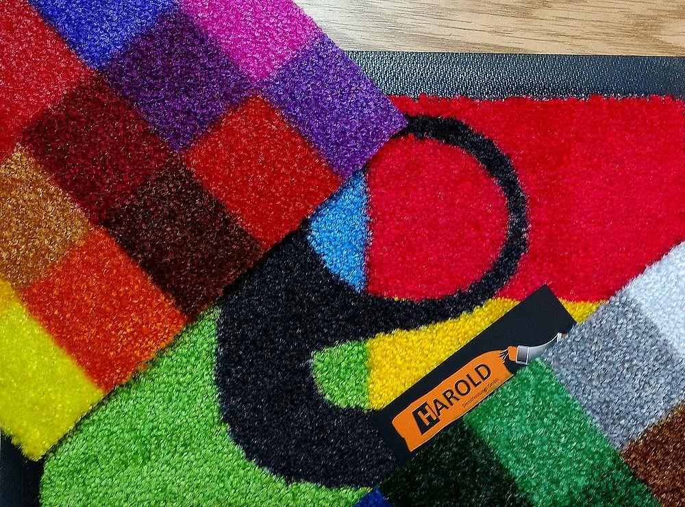 Bedruckter Teppich, Logomatten oder Schmutzfangmatten