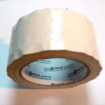PVC-Packband 50mm x 66m fadenverstärkt