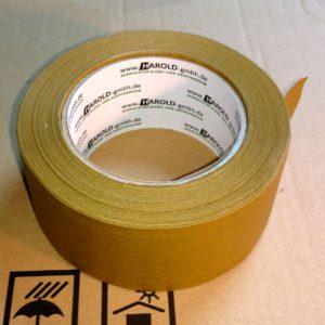 Papierklebeband 50mm x 50m fadenverstärkt