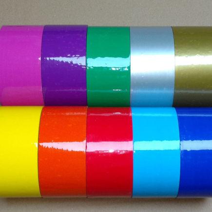 Klebeband farbig / bunt