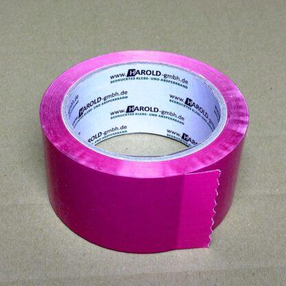 Klebeband einfarbig pink bunt farbig