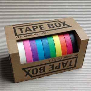 Tape Box, TapeArt
