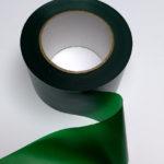 Absperrband dunkelgrün grün