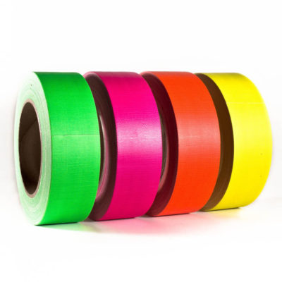 Gewebeband Panzerband Gaffa Tape Neonfarben