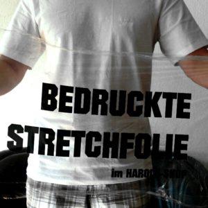 Bedruckte Stretchfolie