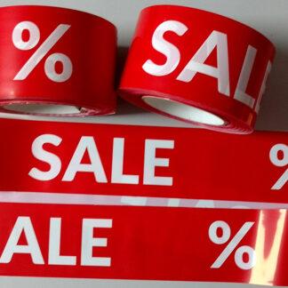 Absperrband SALE % Angebot Sonderverkauf Prozente