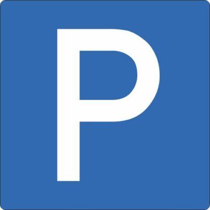 Bodenschilder Outdoor Parkplatz blau WT-5415