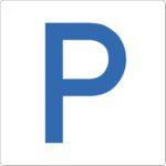 WT-5415 Bodenschilder Outdoor Parkplatz