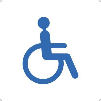 Bodenschilder Outdoor Rollstuhlfahrer WT-5415