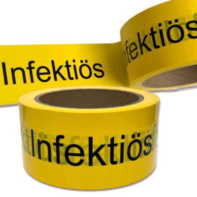 Klebeband Infektion infektiös