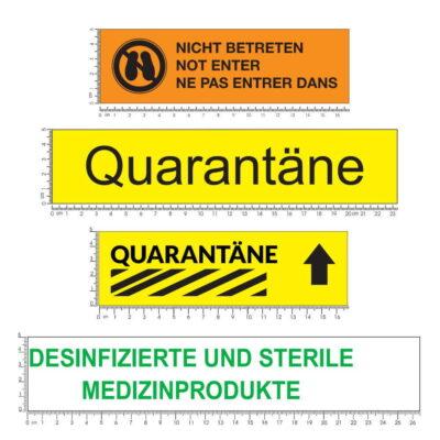 Klebeband Quarantäne Warnband
