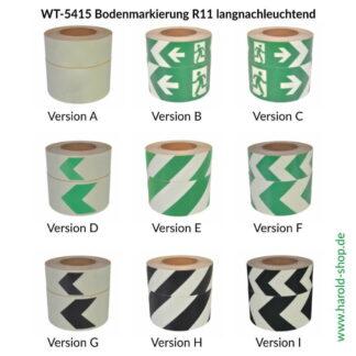WT-5415 Bodenmarkierung R11 langnachleuchtend
