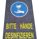 Schmutzfangmatte-Bitte-Hände-desinfizieren