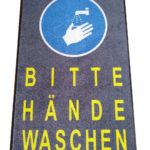 Schmutzfangmatte-Matte-Bitte-Hände-waschen