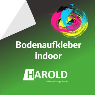 Bodenaufkleber indoor Fussbodenaufkleber