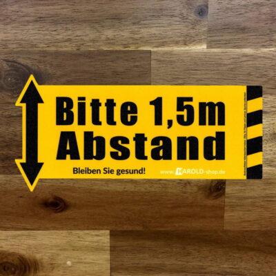Fussbodenaufkleber indoor Laminat - Fliese - Teppich - spurlos entfernbar