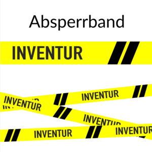 Absperrband Inventur Harold GmbH