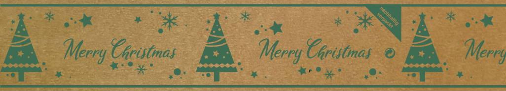 Klebeband Papier Merry Christmas Weihnachten